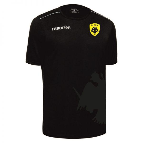 Εμφάνιση αγώνα ομάδας Handball Ανδρών ΑΕΚ Macron (Μαύρο χρώμα)