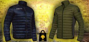 Νέα jackets ΑΕΚ σε 2 νέα χρώματα