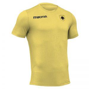 Tshirt ΑΕΚ Boost 100% Βαμβάκι Κίτρινο