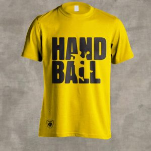 Tshirt AEK HANDBALL 2019 (Κίτρινο)