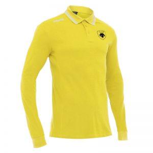 LOIRA Polo ΑΕΚ μακρύ μανίκι (κίτρινο)