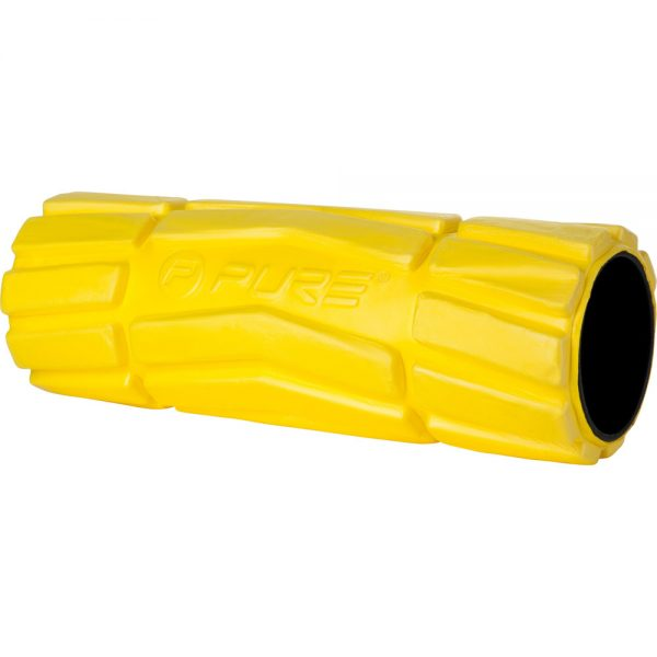FOAM ROLLER SOFT YELLOW 36X14CM PURE